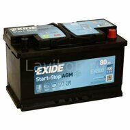 Аккумулятор EXIDE EK800 Start-Stop AGM 80 R+