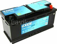 Аккумулятор EXIDE EK1050 Start-Stop AGM 105 R+