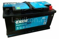 Аккумулятор EXIDE EK950 Start-Stop AGM 95 R+